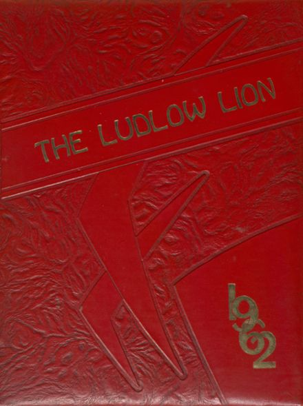 1962 Ludlow High School Yearbook Cover
