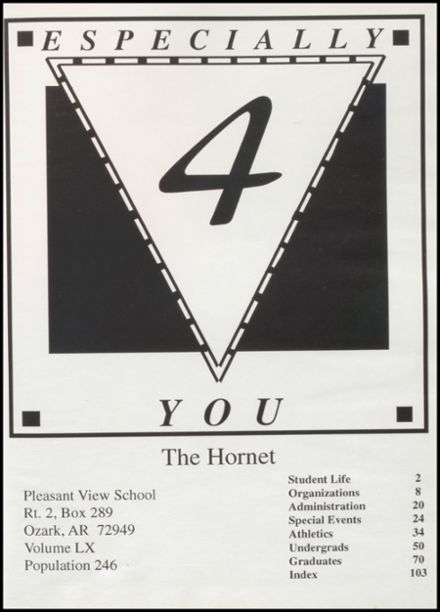 1994 Pleasant View High School Yearbook Page 5