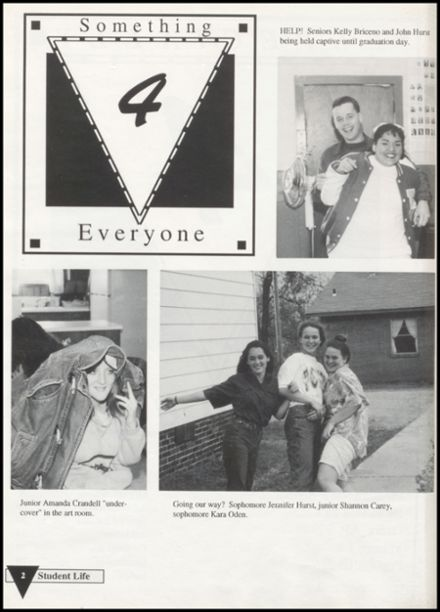 1994 Pleasant View High School Yearbook Page 6