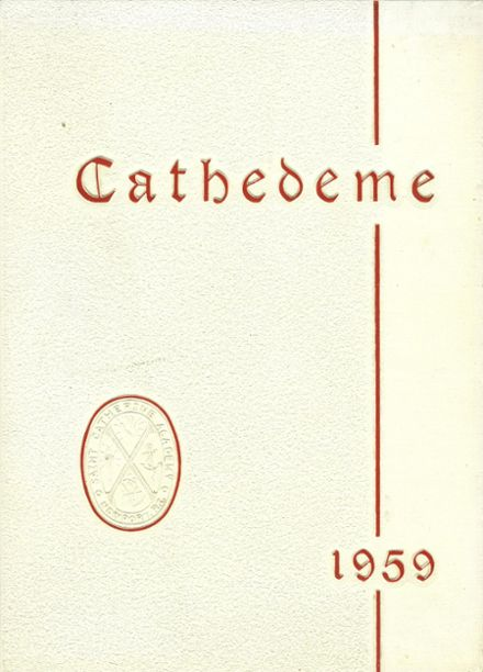 1959 St. Catherine Academy Yearbook Page 1