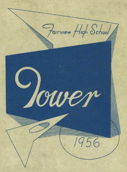 1956 Fairview High School Yearbook Cover
