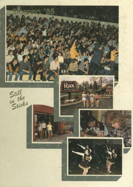 1985 Stow-Munroe Falls High School Yearbook Cover