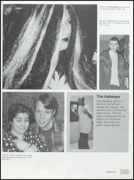 1996 Westland High School Yearbook Page 7