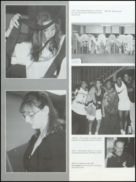 1996 Westland High School Yearbook Page 8