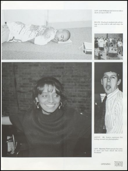 1996 Westland High School Yearbook Page 9