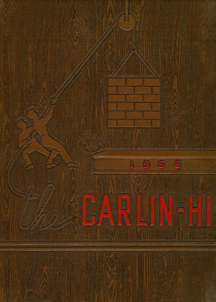 1956 Carlinville High School Yearbook Cover