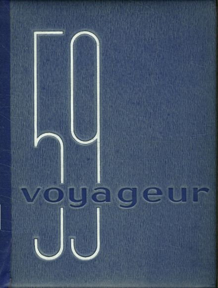 1959 Central Valley High School Yearbook Cover