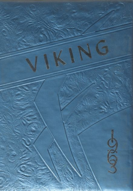 1963 Mossyrock High School Yearbook Cover