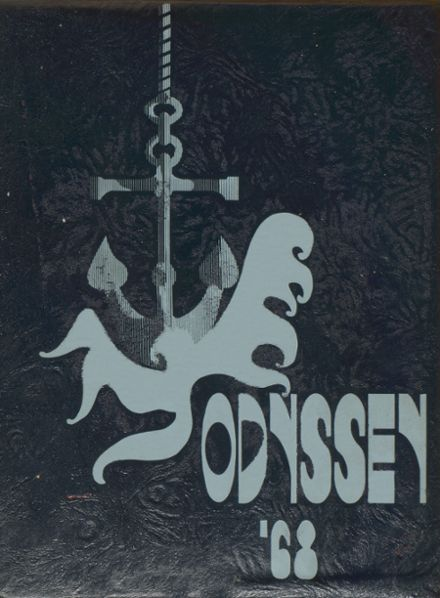 1968 Parkville High School Yearbook Cover