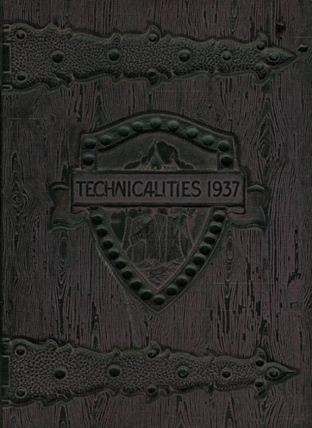 1937 Fresno Technical High School Yearbook Cover