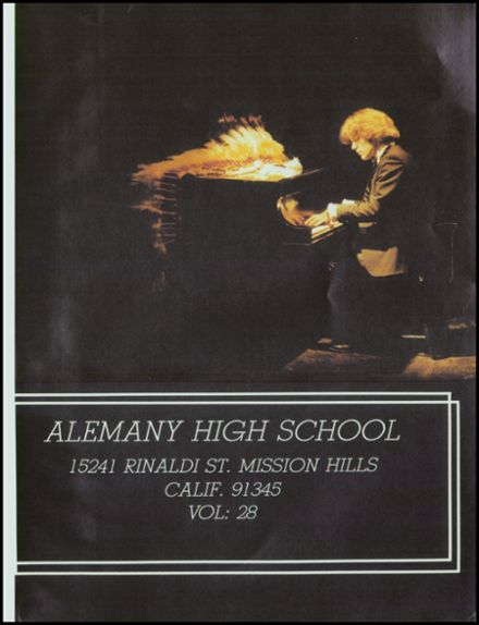 1982 Bishop Alemany High School Yearbook Page 5