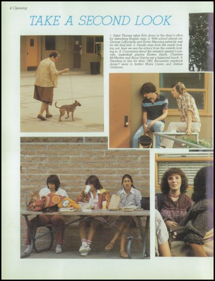 1982 Bishop Alemany High School Yearbook Page 8