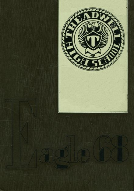1968 Treadwell High School Yearbook Cover