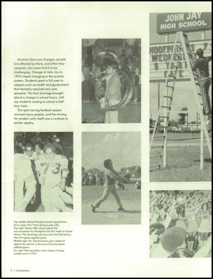 1974 John Jay High School Yearbook Page 6