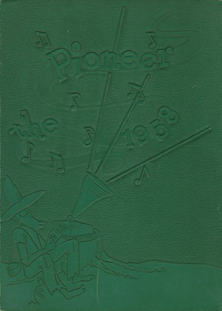 1958 Andrew Lewis High School Yearbook Cover