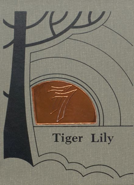 1977 Port Allegany High School Yearbook Cover