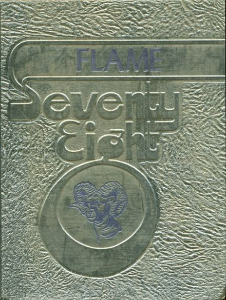 1978 Ringgold High School Yearbook Cover