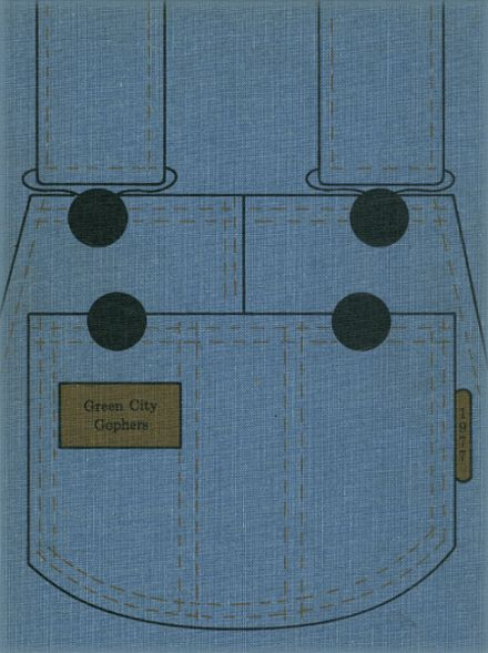 1977 Green City High School Yearbook Cover