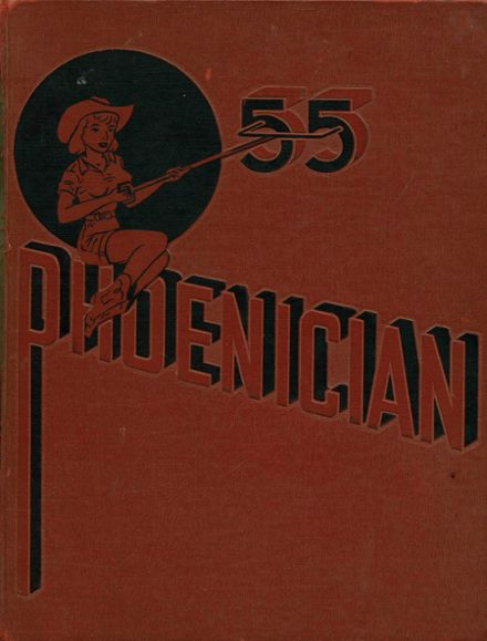 1955 Phoenix Union High School Yearbook Cover