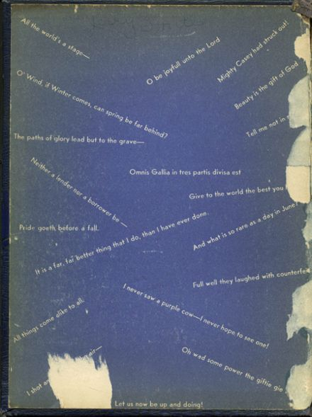 1948 Pleasant Grove High School Yearbook Page 2