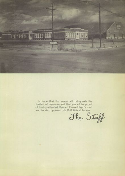 1948 Pleasant Grove High School Yearbook Page 9