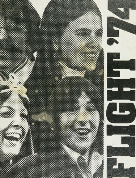 1974 Edsel Ford High School Yearbook Cover