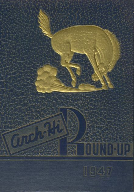 1947 Archbold High School Yearbook Cover