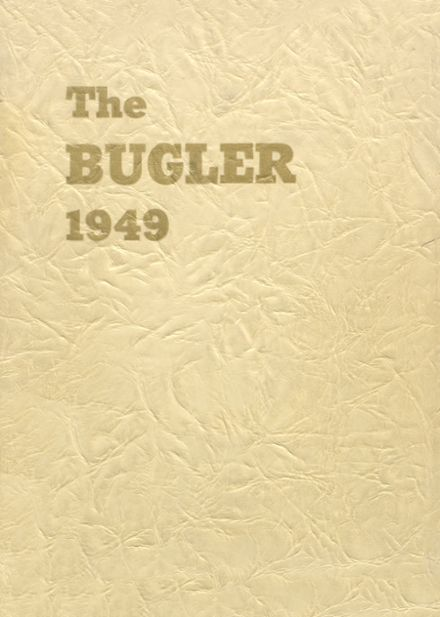 1949 Horicon High School Yearbook Cover