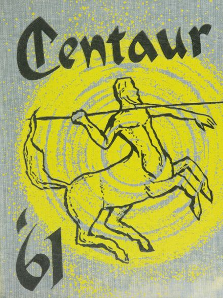 1961 Crawford High School Yearbook Cover