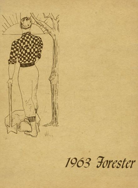 1963 Forest Park High School 406 Yearbook Cover