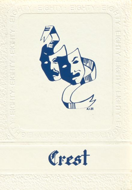 1980 St. Ursula Academy Yearbook Cover