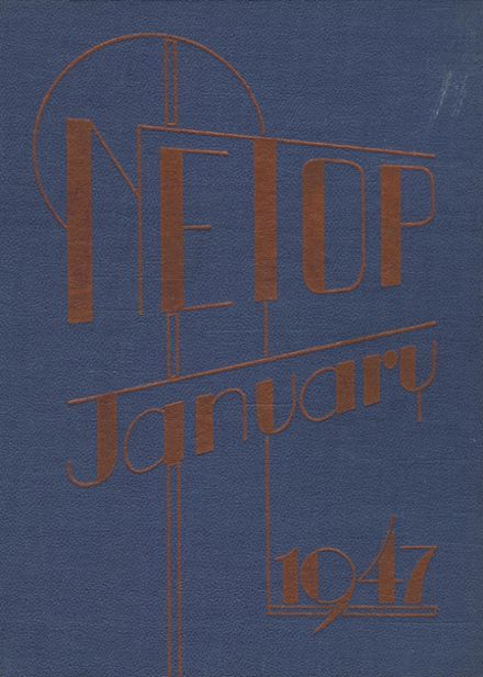 1947 Mt. Pleasant High School Yearbook Cover