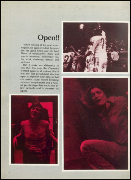 1977 West Lafayette High School Yearbook Page 6
