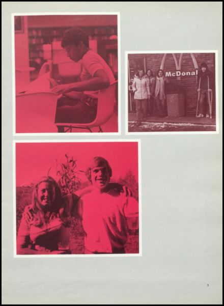 1977 West Lafayette High School Yearbook Page 9