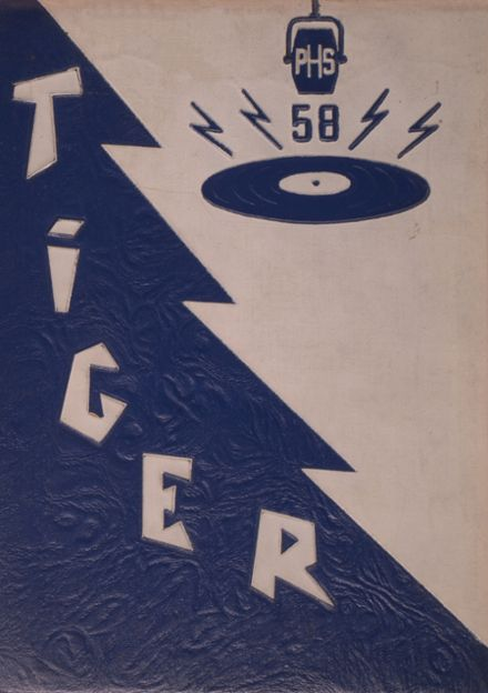 1958 Princeton High School Yearbook Cover