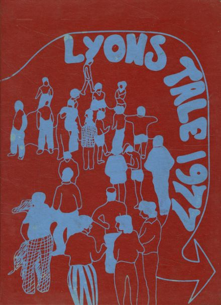 1977 Lyons High School Yearbook Cover
