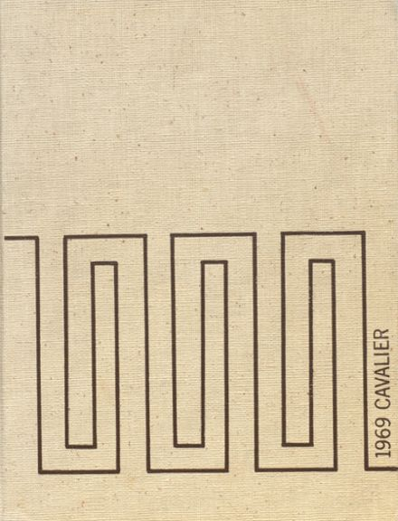 1969 Augusta Preparatory Day Yearbook Cover