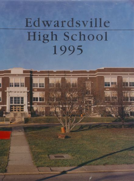 1995 Edwardsville High School Yearbook Cover