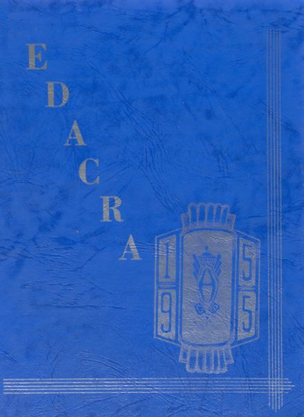 1955 Arcade Central High School Yearbook Cover