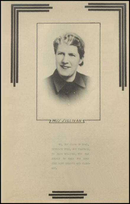 1941 New Milford High School Yearbook Page 3