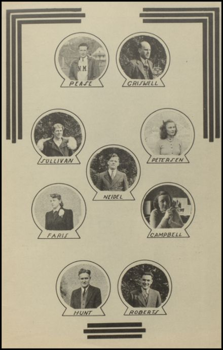 1941 New Milford High School Yearbook Page 7
