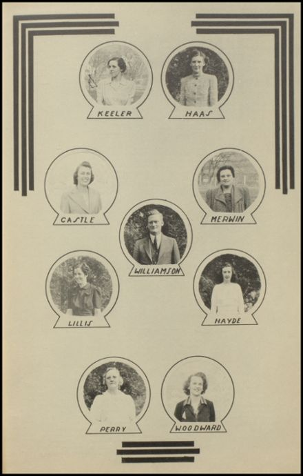 1941 New Milford High School Yearbook Page 9