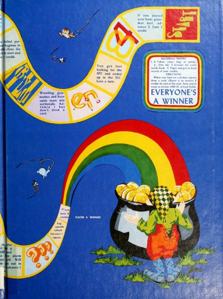 1981 East Noble High School Yearbook Cover