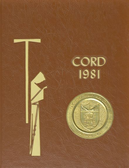 1981 Archbishop Curley High School Yearbook Cover