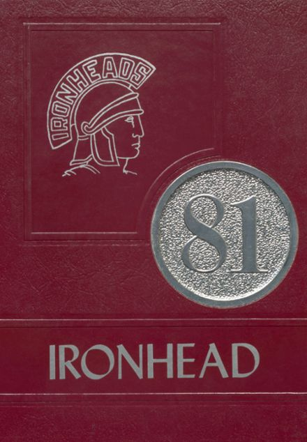 1981 Eufaula High School Yearbook Cover