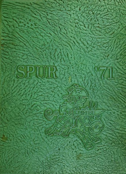 1971 Reagan High School Yearbook Cover