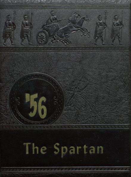 1956 Berthoud High School Yearbook Cover