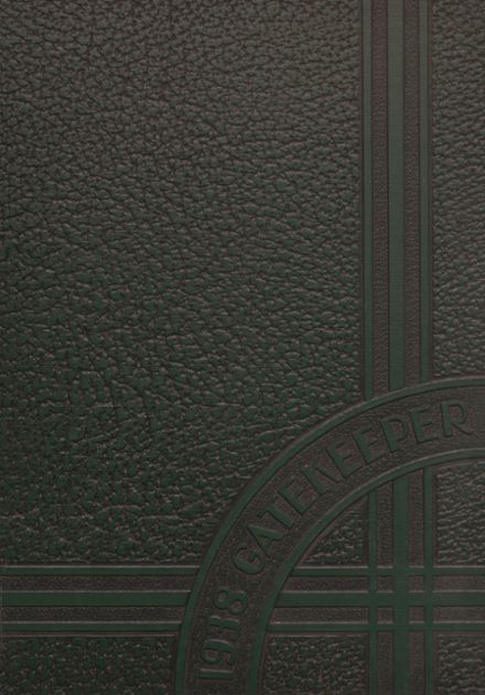 1938 St. Peter's High School Yearbook Cover