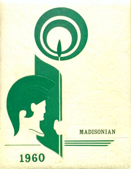 1960 Madison High School Yearbook Cover