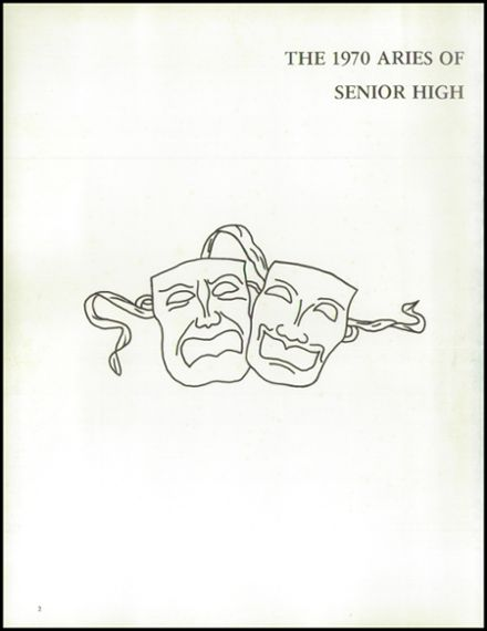 1970 Northeast Guilford High School Yearbook Page 6